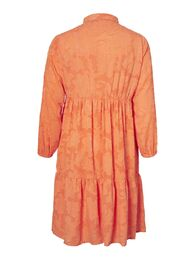 Mara ls midi dress VERO MODA CURVE coral rose
