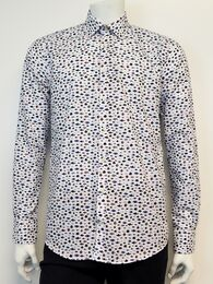 Shirt l/s normal placket GINO MARCELLO white