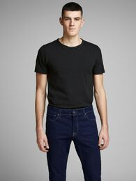 Basic o-neck tee s/s NOOS black