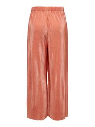 Claudia plisse cropped pant ONLY terra cotta