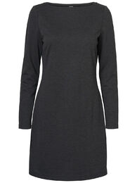Tailor ls abk dress VM dark grey melange