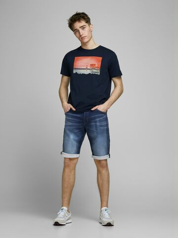 JJIRex jjlong shorts ge 021 JACK&JONES blue denim