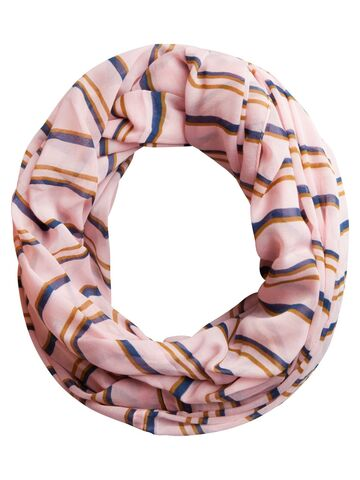 Brunhilda tube scarf PIECES candy pink
