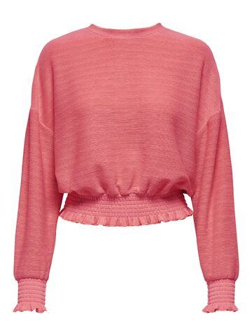 Jenka l/s o-neck top jrs ONLY baroque rose