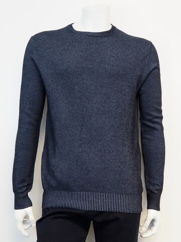 Crew neck knit GINO MARCELLO navy