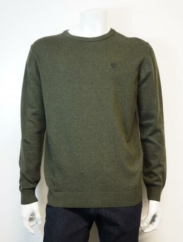 Hampton O knit wear PRE END forest green