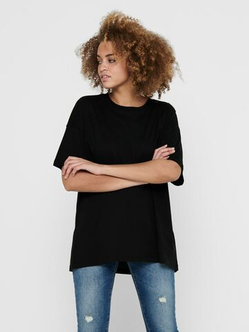 Laya life s/s oversized top ONLY black