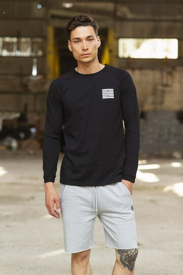 Original brick longsleeve t-shirt BILLEBEINO black