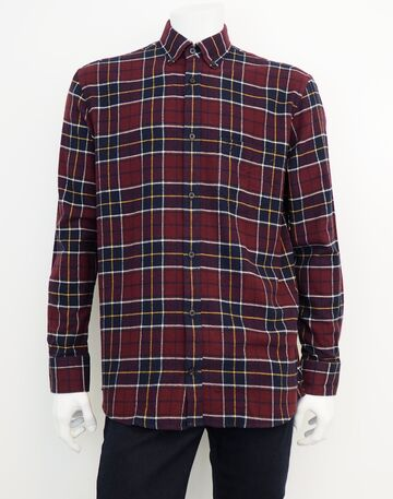 Farmer ls shirt PRE END dark wine