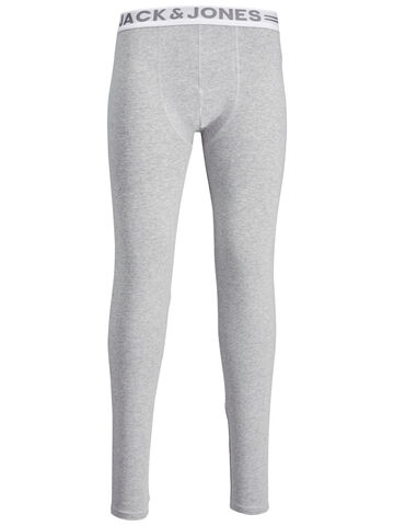 Jacsolid long johns JACK&JONES light grey melange