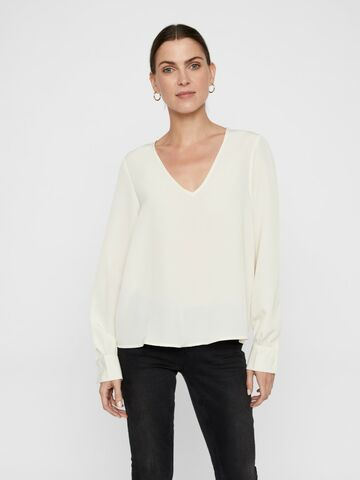 Instant ls v-neck blouse VERO MODA birch