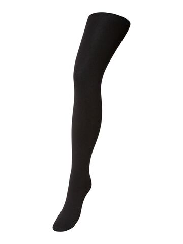Kaya fleece tights PIECES black