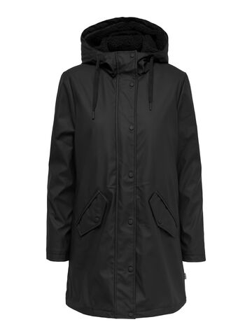 Sally raincoat ONLY black