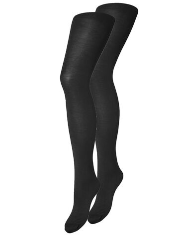 New nikoline 40 den 2-pack tights PIECES black