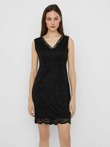 Janne sl short lace dress VERO MODA black