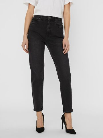 Joana hr strtch mom ank jeans VERO MODA black denim