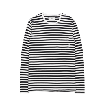Verkstad long sleeve MAKIA black-white