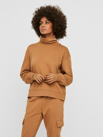 Mercy ls roll neck VERO MODA tobacco brown