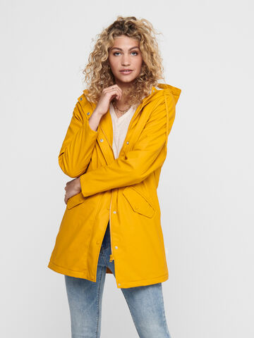 Sally raincoat ONLY golden yellow