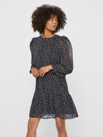 Perla l/s abk dress VERO MODA black print