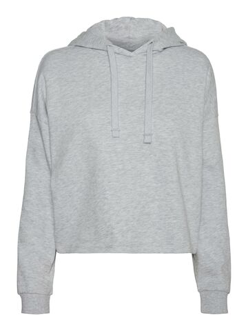 Noa ls hood sweat VERO MODA new light grey melange
