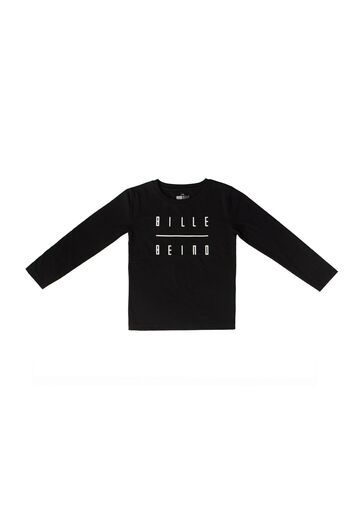 Kids long sleeve BILLEBEINO black-white print