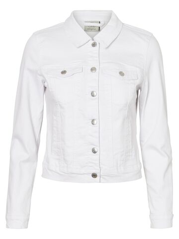 Hot soya ls denim jacket VM bright white