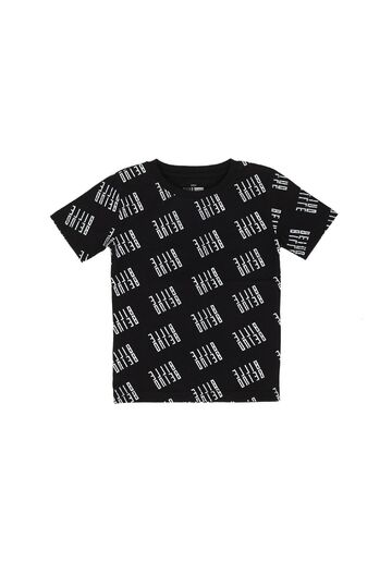 Kids Allover t-shirt BILLEBEINO black white-print