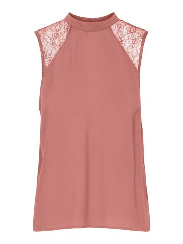 Hean s/l top VERO MODA old rose