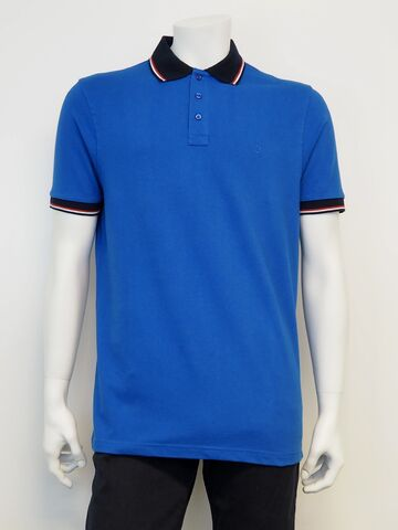 Polo shirt SALT cobalt