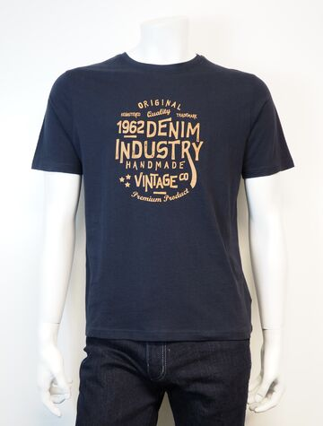 Samwell t-shirt PRE END ultra dark navy
