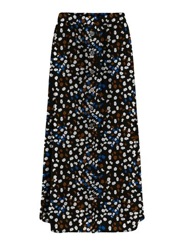 Nova lux button skirt ONLY ditsy heaven aop