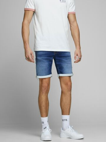 JJIRick jjicon shorts ge 006 ik JACK&JONES blue denim