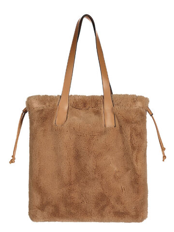 Faux fur bag RINO&PELLE woodsmoke ONE SIZE