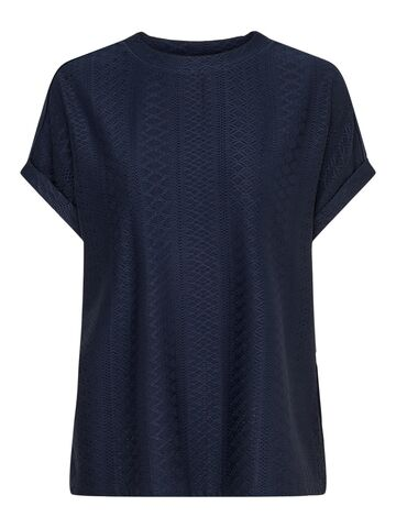 Lida s/s o-neck top jrs ONLY night sky
