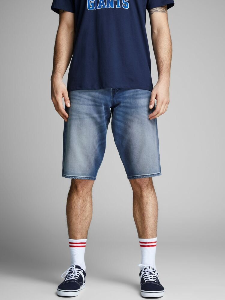 Ron jjlong shorts ge 851 I.K J&J blue denim