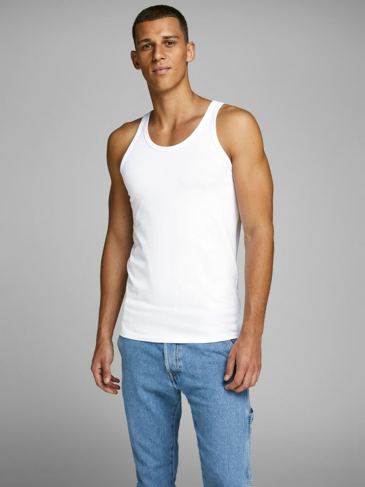 Basic tank top NOOS white