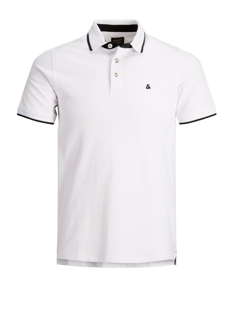 Paulos polo ss slim fit J&J white